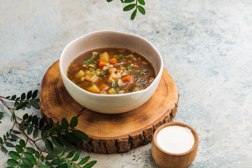 Lean mushroom soup