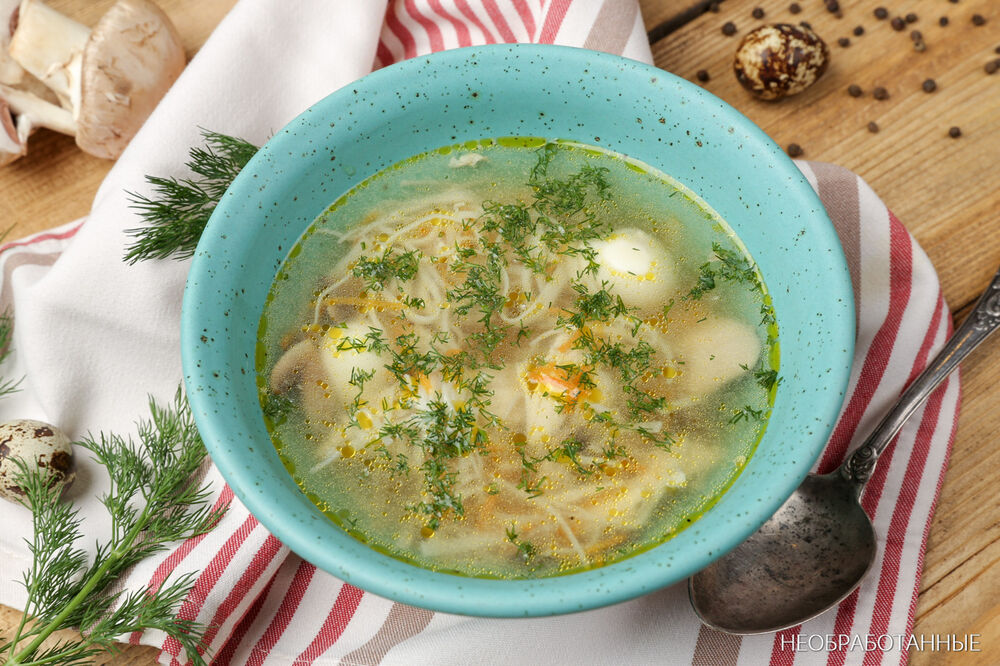 Chicken noodles soup 1000 g