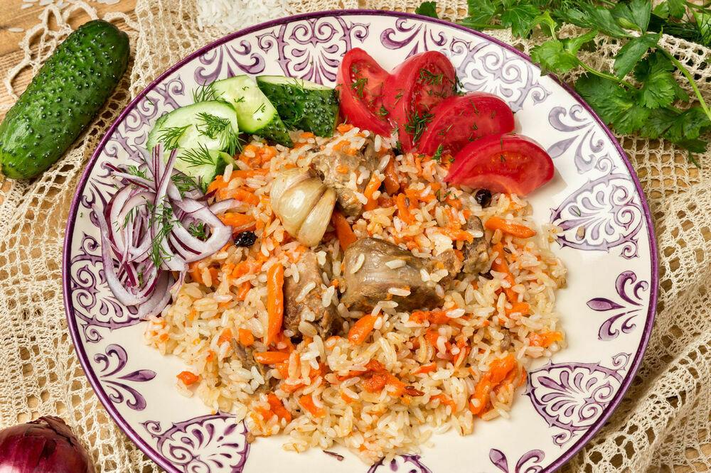 Uzbek style pilaf 1000 g
