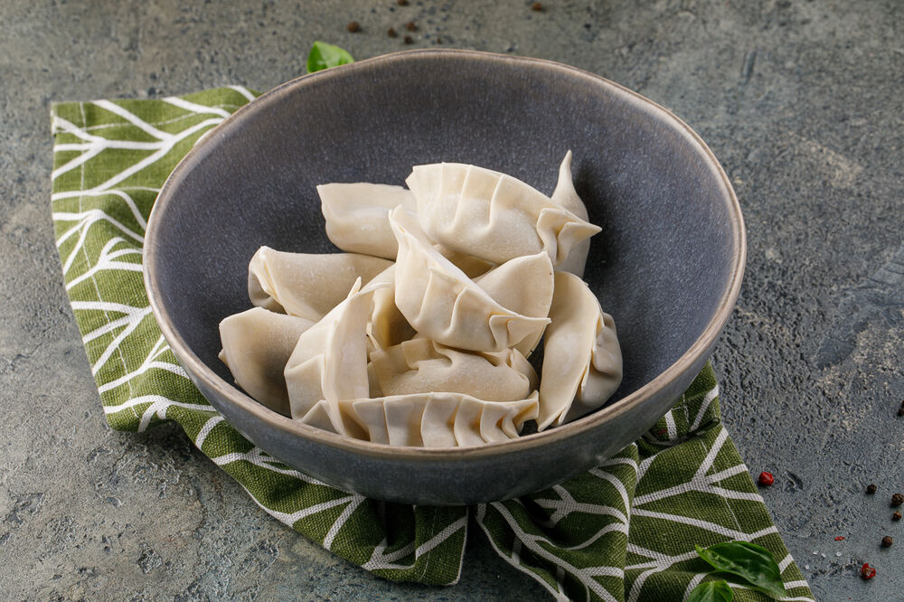 Frozen dumplings stuffed with potatoes and mushroom 500 g