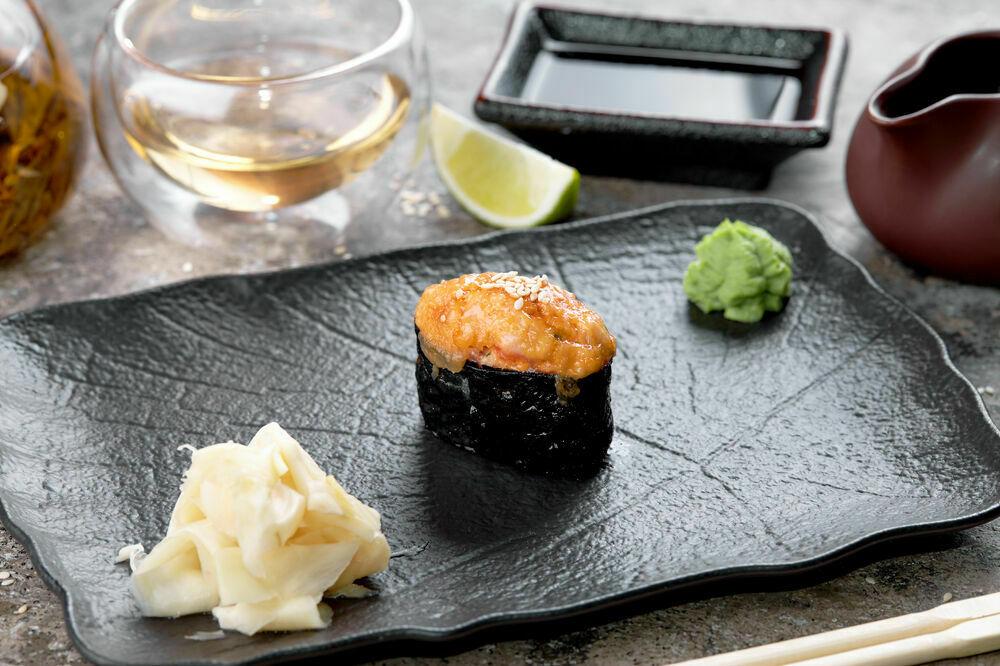 Spicy baked Shrimp Sushi