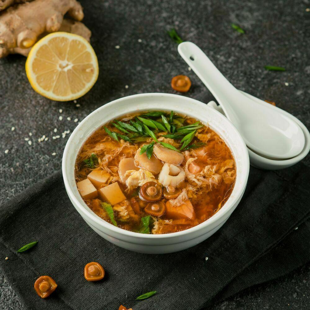 Hot Kimchi soup