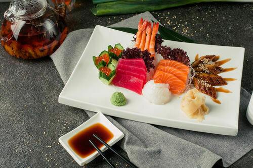 sashimi scallop