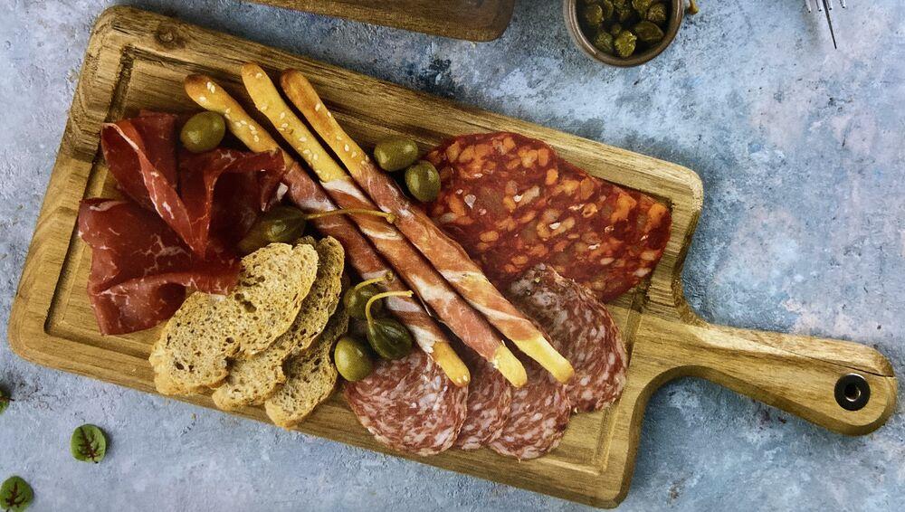 Assorted meat delicacies
