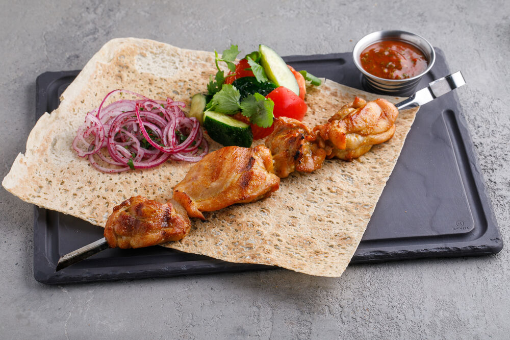 Chicken thigh kebab