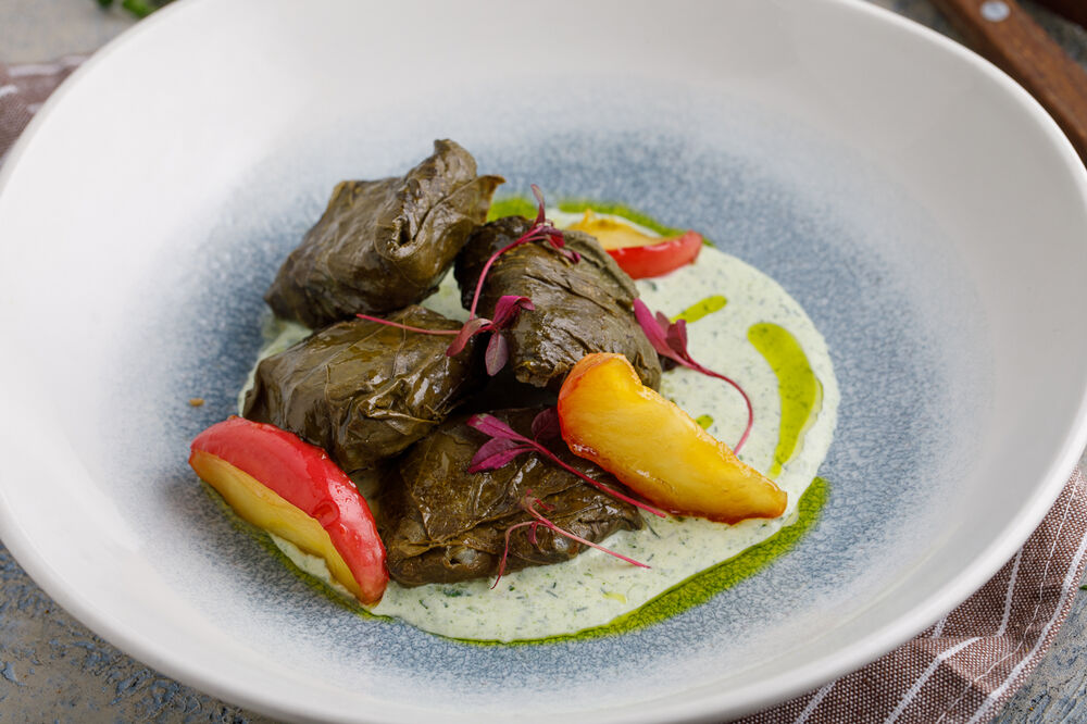 Dolma with duck