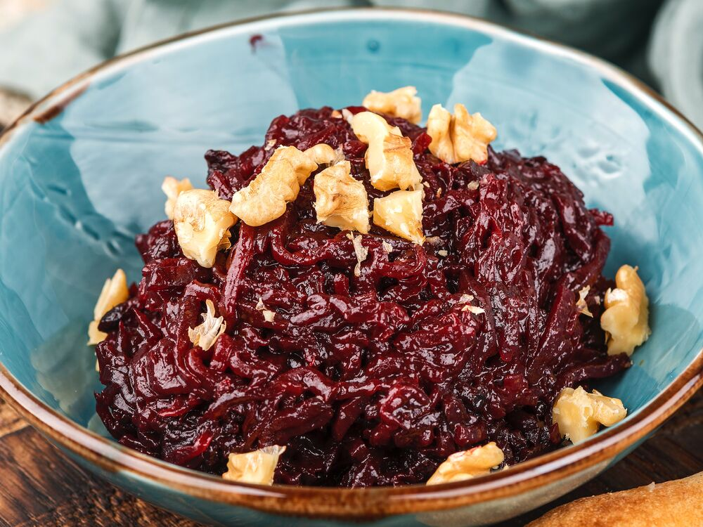 Beet spread by granny recipe