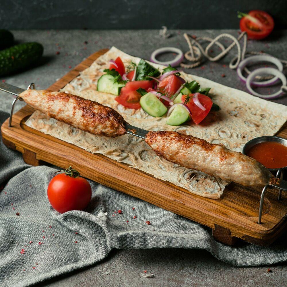 Lyulya-kebab of chiken