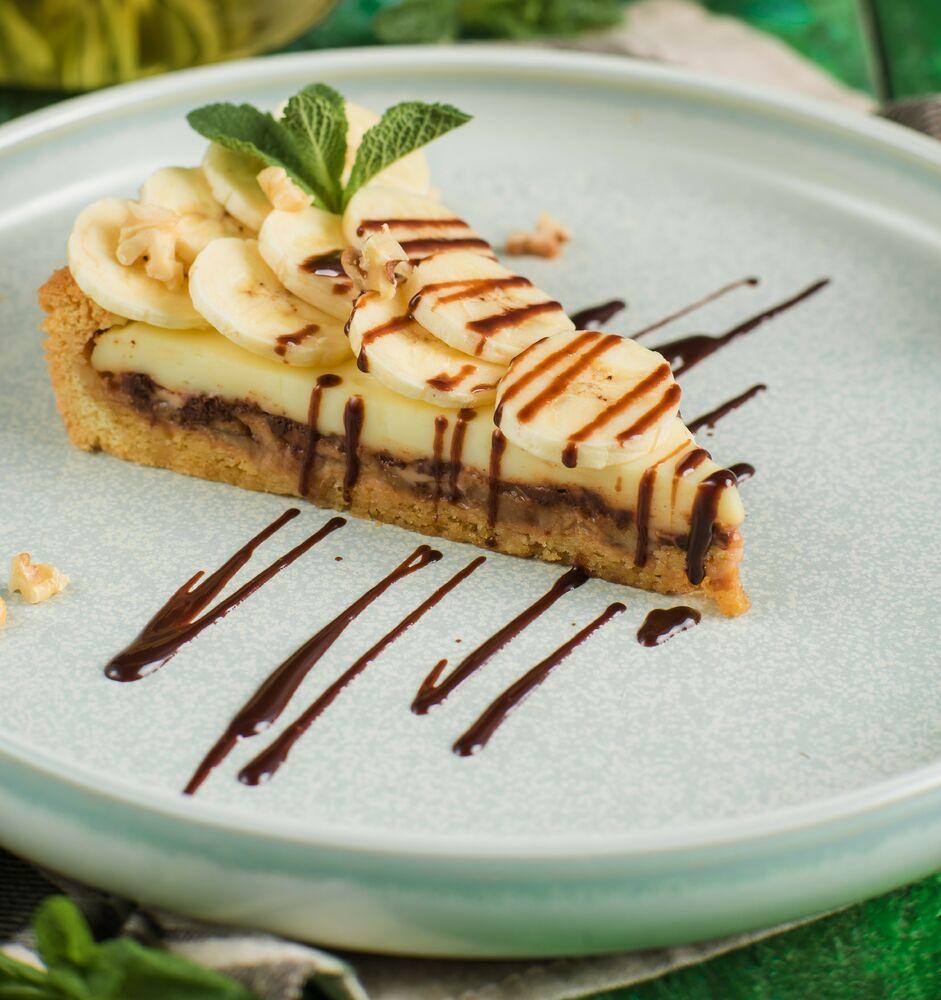 Chocolate-banana cake