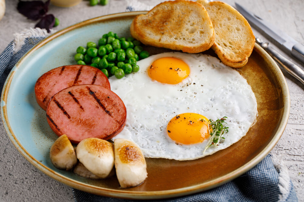 Fried eggs from the pereplinnykh of eggs