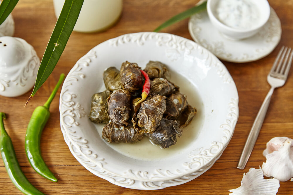 Dolma with mutton meat