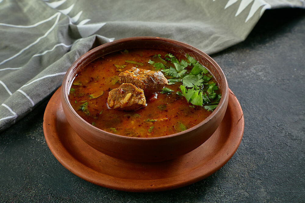Kharcho with veal meat