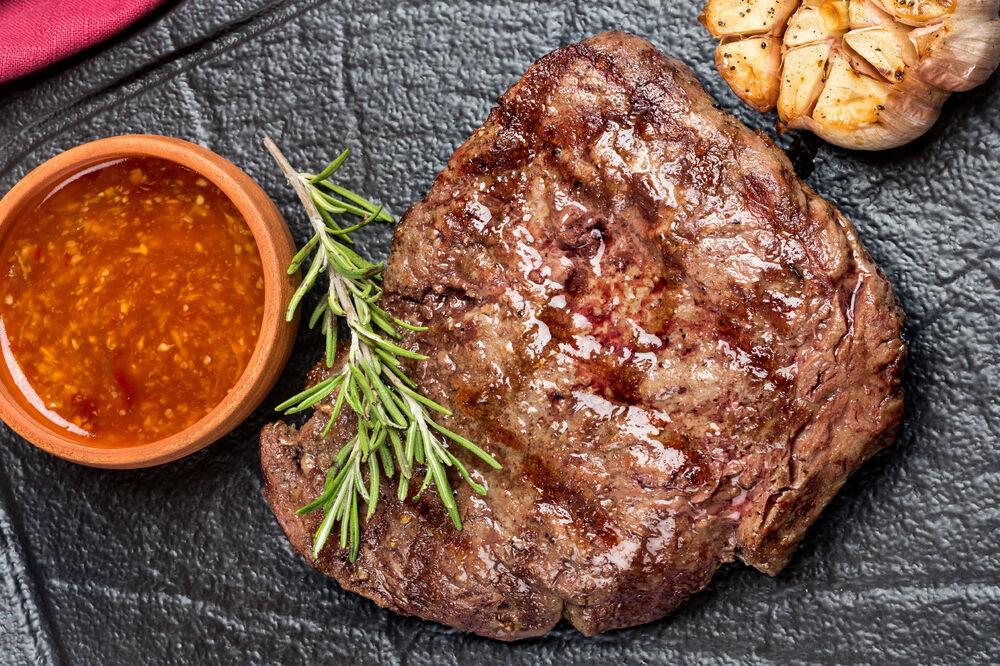 Grilled veal fillet