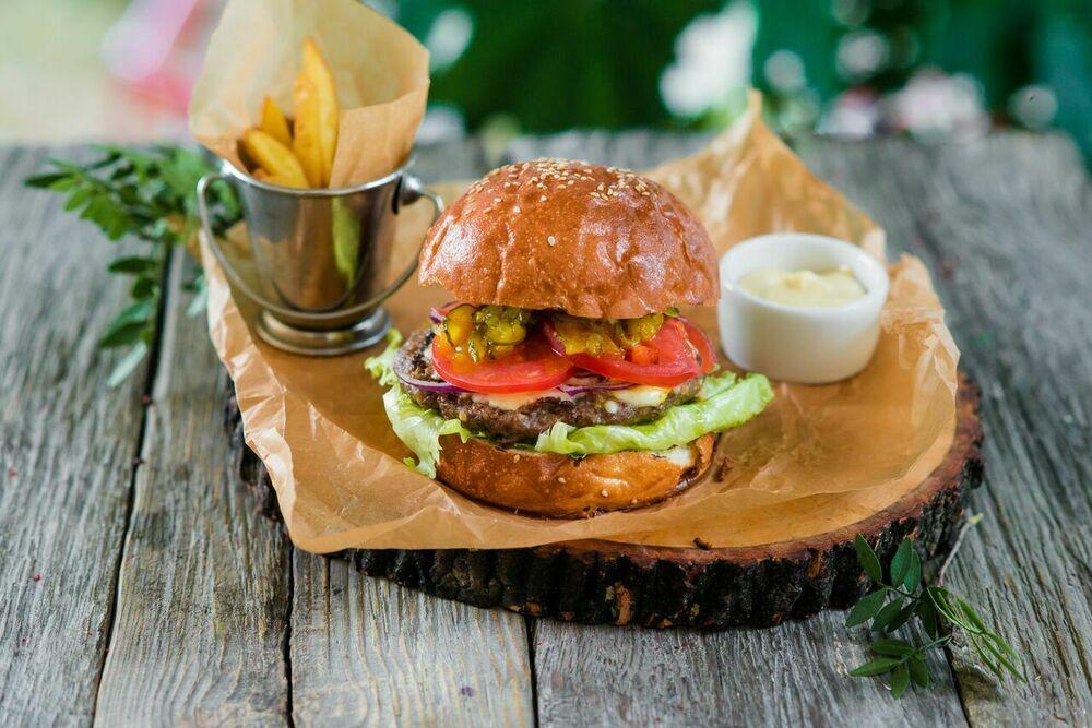 Meat burger XXL