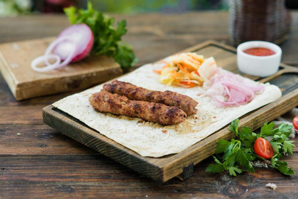 Mutton lyulya-kebab
