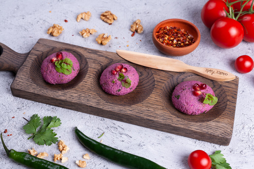 *Pkhali with beetroot 500 gr