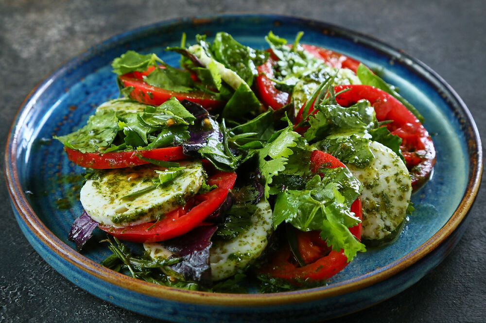 Kweli with tomatoes