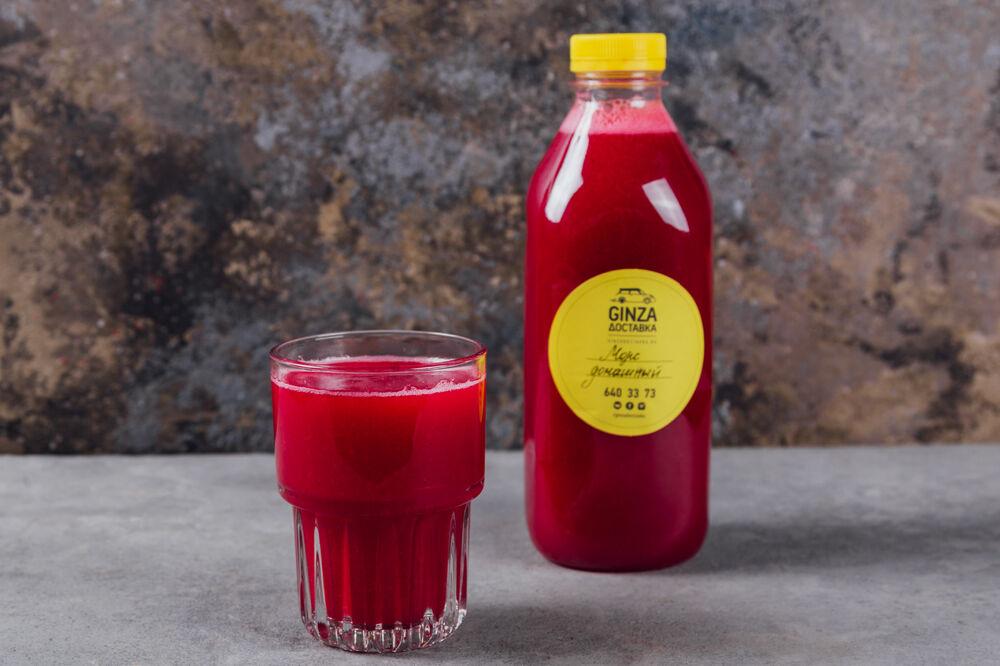 Rasberry fruit drink 1  liter