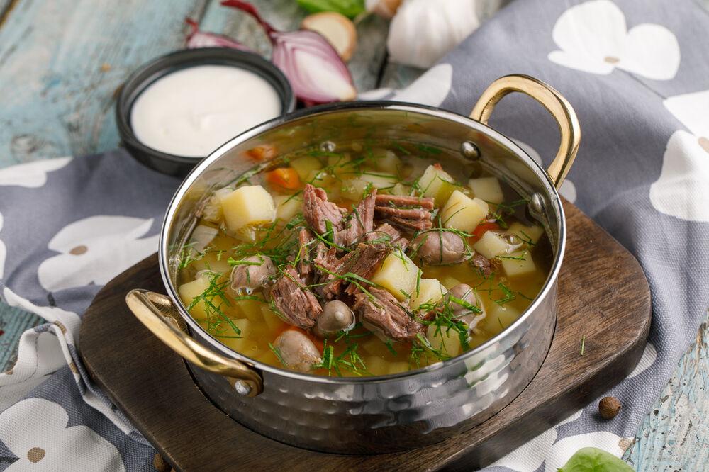 Pickle soup