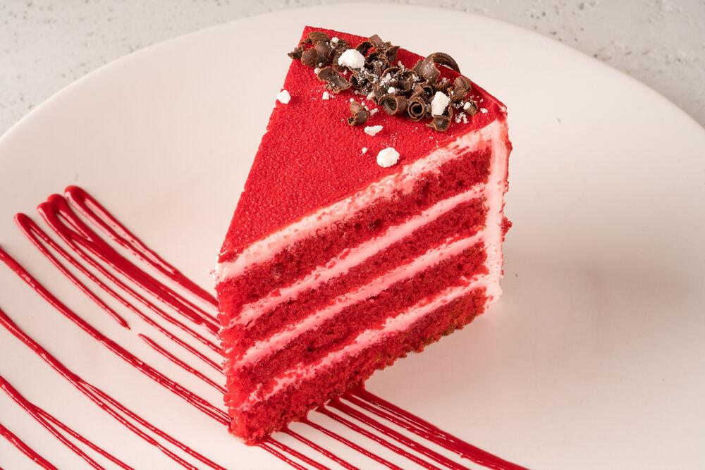 «Red velvet» cake