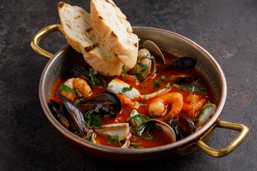 Mediterranean-style soup