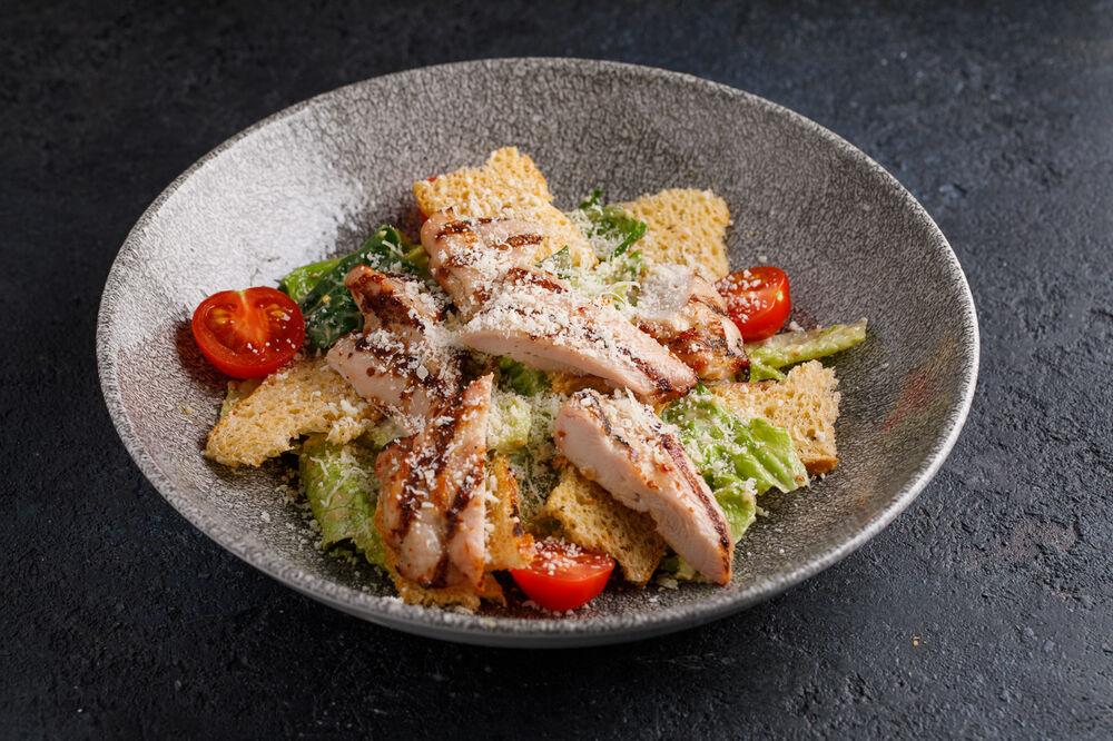 Caesar with chicken