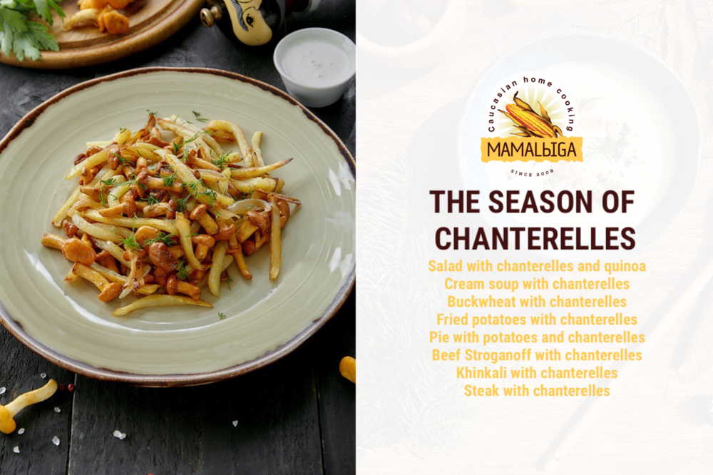 The season of chanterelles
